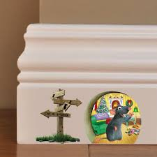 3d funny mouse hole cat is stupid wall sticker for kids rooms see larger image