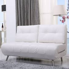 Best Leather Sleeper Sofa Mid Century Best White Leather Loveseat Sleeper Sofa With Fold Out