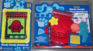 amazon com blue u0027s clues handy dandy notebook steve bedtime