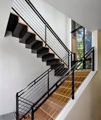 stairway railing modern u2014 john robinson house decor incredibly