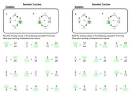 equivalent fractions by deechadwick teaching resources tes