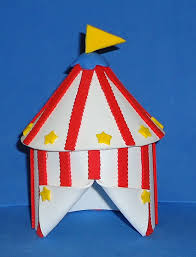 circus cake toppers foam big top circus tent cake topper