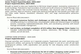 construction superintendent resume examples resume sample 23