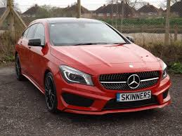 pink mercedes amg used 2015 mercedes benz cla class 220 d amg line for sale in rye