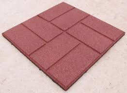 outdoor rubber brick floor tile matting paver buy rubber floor