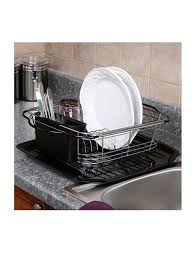 Kitchen Sink Dish Rack Dish Drying Rack In Sink On Counter Or Expandable The Sink