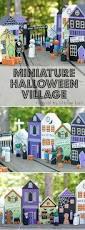 paint your own diy halloween village ashley hackshaw lil blue boo