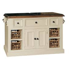 amazon com large granite top kitchen island in country white