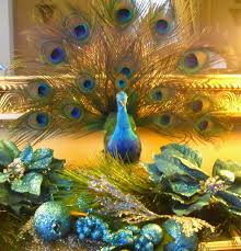 Christmas Tree Centerpieces Wedding by 130 Best Peacock Themed Christmas Images On Pinterest Peacock