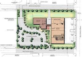 building site plan cpp wind corporate cus redevelopment by vignette studios