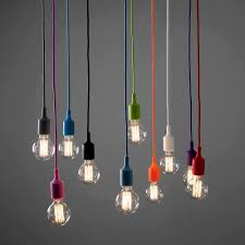 Fabric Pendant Light by Installing Well Light Hanging Fixture Diy All Home Decorations