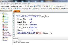 Teradata Create Table Chapter 2 U2013 Fact And Dimension Tables Teradata Aster Data Book