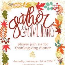 thanksgiving invitation templates cards