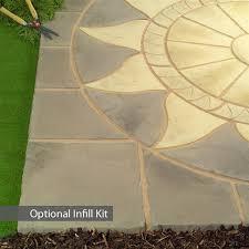Circular Patio Kit by Sunstone Circle Stone Patio Paving Kit Internet Gardener Circle