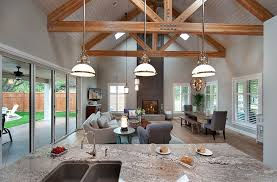 Cottage Style Home In British Columbia - Cottage style family room