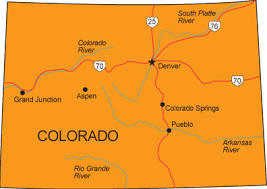 co map colorado state map