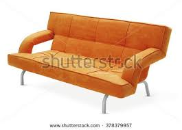 Couch That Turns Into Bed Red Modern Sofa Stock Photo 51408748 Shutterstock