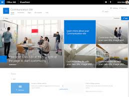 design home page online change sharepoint online root site collection to use the new