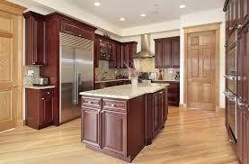 what color wood floor looks with cherry cabinets best kitchen paint colors ultimate design guide