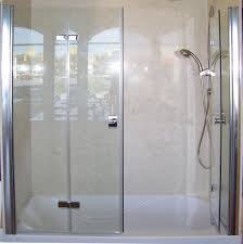 patented bi fold shower door u2013 gus u0027 designer products