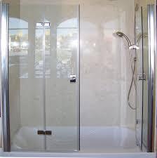 bi fold shower door hinges patented bi fold shower door u2013 gus u0027 designer products