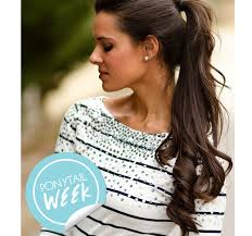 how to cut your own curly hair in layers 10 curly hair ponytails to change up your look stylecaster