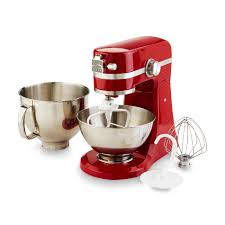 Kitchenaid Mixers On Sale by Kenmore Elite 216901 R 5 Qt 400 Watt Red Stand Mixer With Extra 3