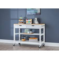 bamboo kitchen island 48 in white bamboo kitchen island with drawers tbflwh