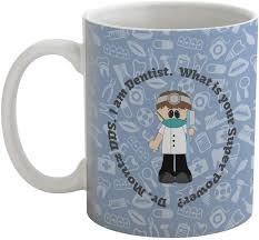 dentist coffee mug personalized baby n toddler