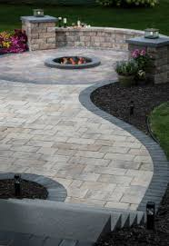 Paver Patio Edging Options Patio Design Trends In Paver Laying Patterns From Belgard
