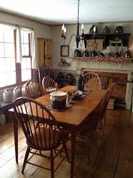 Colonial Dining Table Primitive Dining Room Dining Room Ideas Pinterest Chairs
