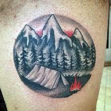 40 mountain tattoo designs for men climb the highest peak