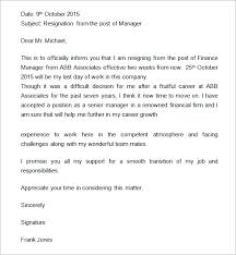 resignation letters no notice writing a resignation letter