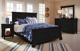 King Bedroom Set With Storage Headboard Ravenswood 6 Pc Cal King Bedroom Set Black California King
