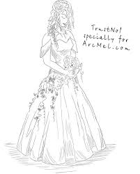 drawing wedding dresses great how to draw a wedding dress by 46 for your used