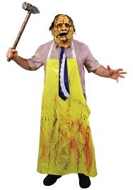 leatherface costume chainsaw leatherface costume