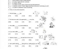 fanboys grammar worksheet worksheets