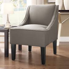 Accent Armchair Swoop Arm Accent Chair