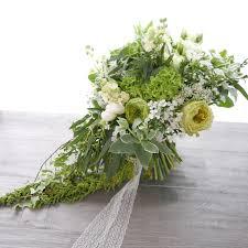 Cascading Bouquet Green Cascading Bouquet By Florals Actually Bridestory Com