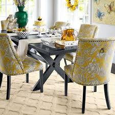 pier 1 dining room table corinne gold dining chair with black espresso wood dining chairs