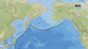 Map Of Russia And Alaska by Powerful Earthquake Strikes Between Russia And Alaska Magnitude
