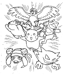 pudgy bunny u0027s pokemon coloring pages