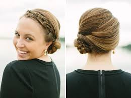 side buns for shoulder length fine hair easy medium length hairstyles for fine hair