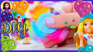 diy lego friends fidget spinner friendship hearts make build silly