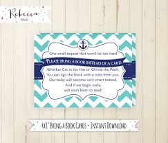 bring a book instead of a card poem baby shower poem bring books instead cards baby showers ideas