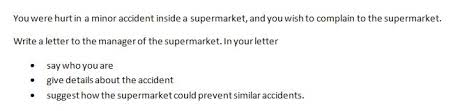 ielts letter writing tips