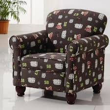kids accent chair with wingback and storage plus wooden legs ideas