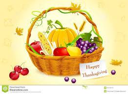 basket of thanksgiving vegetable stock vector image 21273713