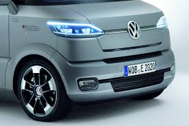 volkswagen concept van interior volkswagen looks into the transporter u0027s future with new et