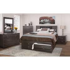 King Bed Tuxedo  Lastmans Bad Boy - Bad boy furniture bedroom sets